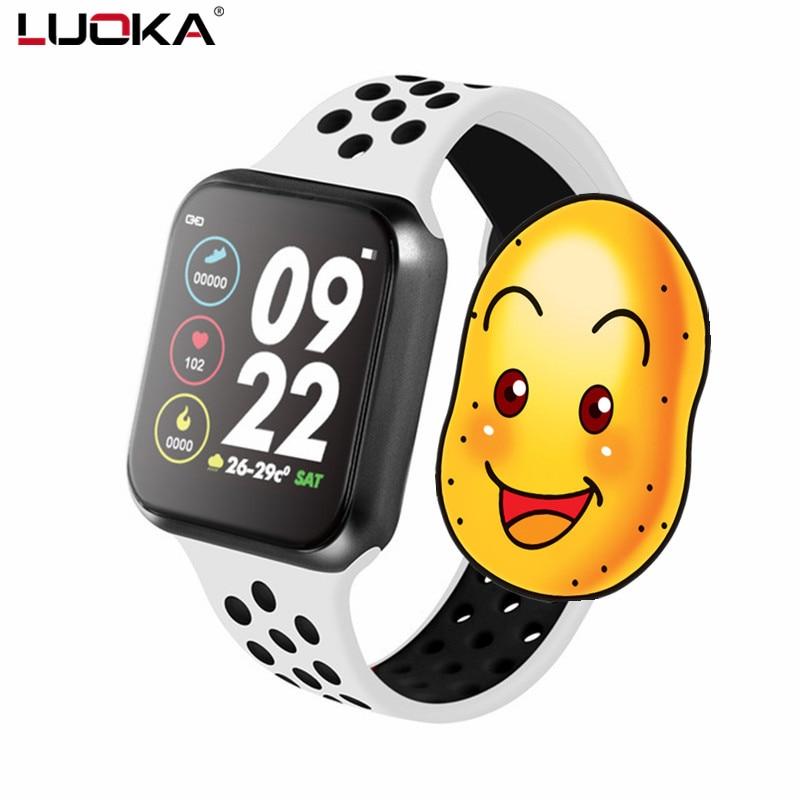 F8 Pro smart watch IP67 waterproof smartwatch heart rate monitor multiple sport model fitness tracker man women wearable PK F9