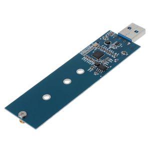 Image 3 - M.2 To USB Adapter B Key M.2 SSD Adapter USB 3.0 Đến 2280 M2 NGFF SSD Ổ Bộ Chuyển Đổi SSD đầu Đọc Thẻ