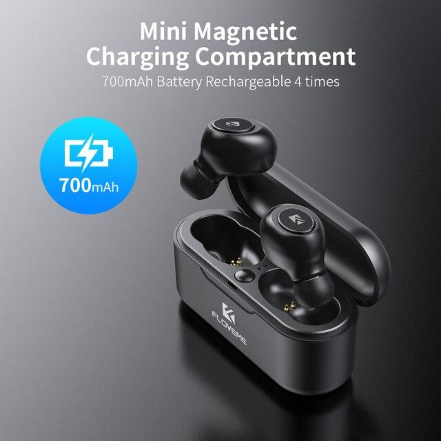 FLOVEME TWS 5.0 Wireless Headset Bluetooth Earphone Headphones For Smart Phone Earphones Stereo Sound Earbuds Dual Microphone 1