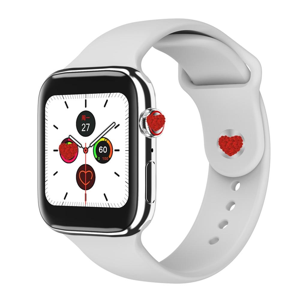 F18 Smart Watch Women Men Fitness Tracker Bracelet Heart Rate Monitor Smartwatch Series 5 Full Touch Waterproof Women VS W68 W75