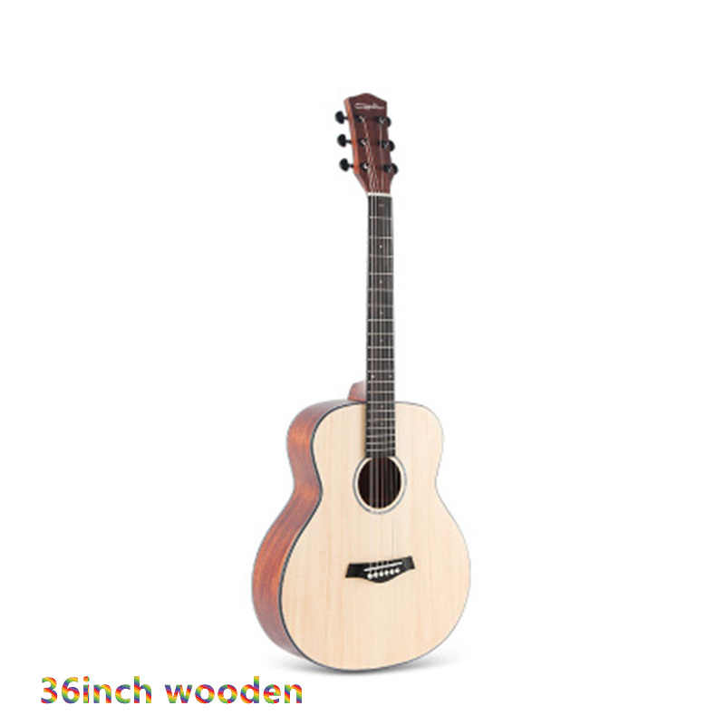 36 40 41 Inci Cutaway Gitar 6String Rakyat Guitarmatte Finishing Solid Spruce Sapele Akustik Gitar untuk Pemula AGT140