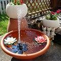 Наружное украшение фонтан насос для фонтана на солнечной энергии свободно стоящий 1 4 Вт птица ванная фонтан насос для сада пруд и бассейн
