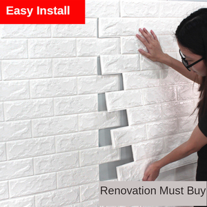 Wallpapers Background Wall-Decoration Self-Adhesive Anti-Water-Wall 3D Anti-Collision