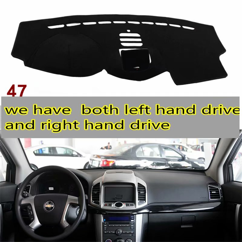 For Daewoo Holden Chevrolet Captiva 2006 2007 2008 2009 2010 2011 2012 2013 2014 Dashmat Car-styling Accessories Dashboard Cover
