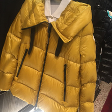 90% White Duck Down Winter Jacket Woman Hooded Female Coat Two Colors Size 1-4 Thicken Keep Warm Winter Down Jacket man 1:1