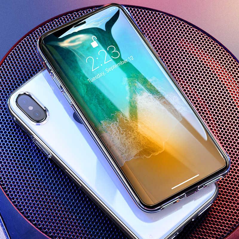 الزجاج المقسى لفون 11 برو ماكس زجاج واقي ل فون X XS ماكس Xr 7 8 زائد 6 6S 5 5S SE واقي للشاشة الزجاج HD