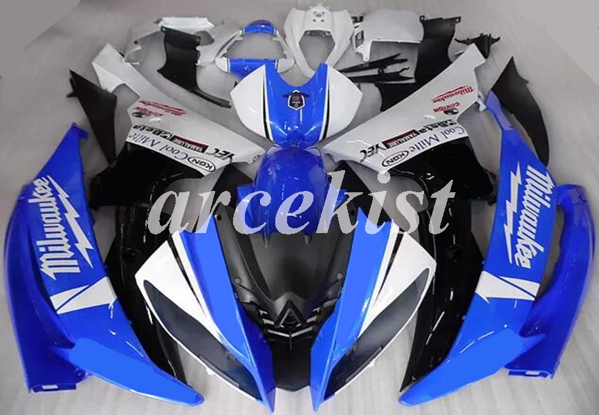 New ABS Motorcycle Full Fairings Kit Fit For YAMAHA YZF-R6 2008 - 2016 08 09 10 11 12 13 14 15 16 Body Set Blue