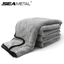 Полотенце из микрофибры, ткань для мытья автомобиля, автоматическая чистка, уход за окном двери, толстая сильная водопоглощающая ткань для автомобиля, дома, автомобильные аксессуары