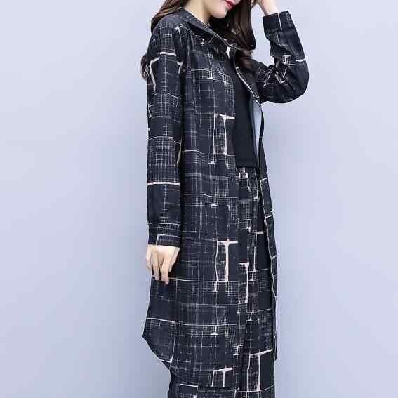 Besar Ukuran Besar Wanita 2 Piece Set Top dan Celana Lebar Kaki Celana Suit Set Pinggang Elastis Tahun kostum Pakaian Latihan Yg Hangat DC100