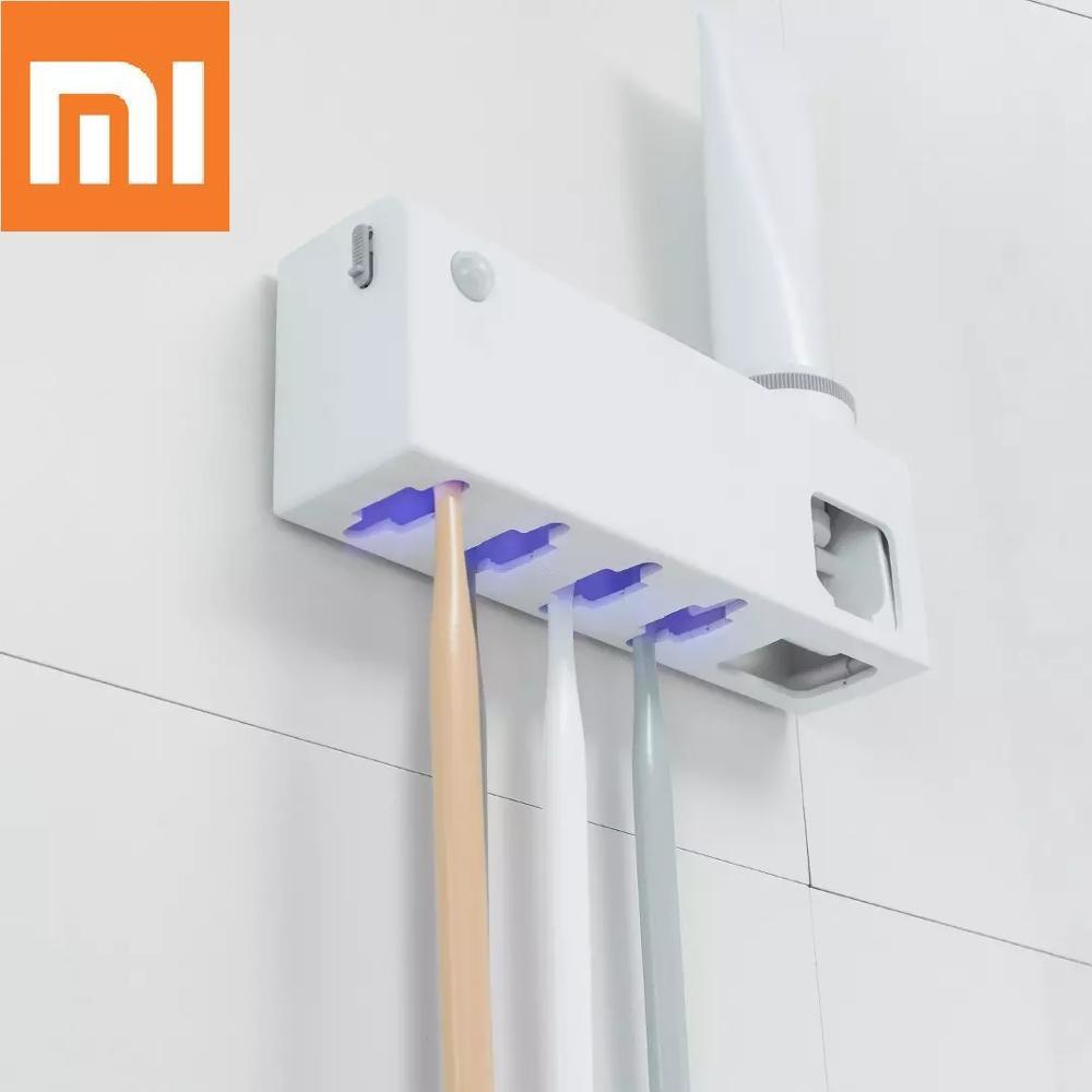 Xiaomi Dr.Meng Intelligent Sterilization Toothbrush Holder UVC Ultraviolet Sterilization Intelligent Human Body Induction