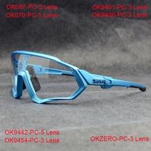 Cycling-Sunglasses Road-Bike-Glasses Photochromic Eyewear Spectacles Mountain-Skidproof