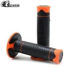 With 22mm 7/8 Orange Rubber For 990 125/200/390 DUKE EG Enduro Pro Motocross Motorcycle Accessories HandleBar