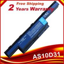 HSW batterie dordinateur portable Pour Acer Aspire 4741 4741G 4251 5741 5750G 7551 AS10D41 AS10D81 AS10D31