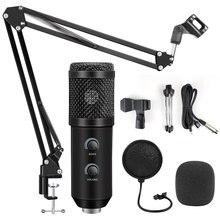Bm 800 конденсаторный микрофон для ПК Компьютерные потоки запись
