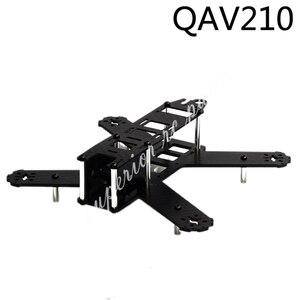 Image 1 - מיני 210mm 210 QAV210 180mm 180 QAV180 טהור סיבי פחמן Quadcopter מסגרת ערכת עבור LS 210 FPV מירוץ Drone