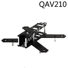 Mini 210mm 210 QAV210 180mm 180 QAV180 pur fibre de carbone quadrirotor cadre Kit pour LS 210 FPV course Drone