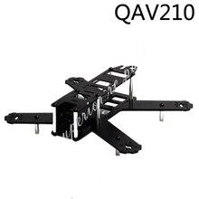 Mini 210mm 210 QAV210 180mm 180 QAV180 saf karbon Fiber Drone iskeleti için LS 210 FPV yarış Drone