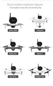 Image 3 - ل ملحقات طائرة بدون طيار مكبر الصوت ل DJI Mavic Mini Pro Air Mavic 2 برو فيمي X8SE X193 SG906 SG907 F11 E520 اللاسلكية مكبر الصوت