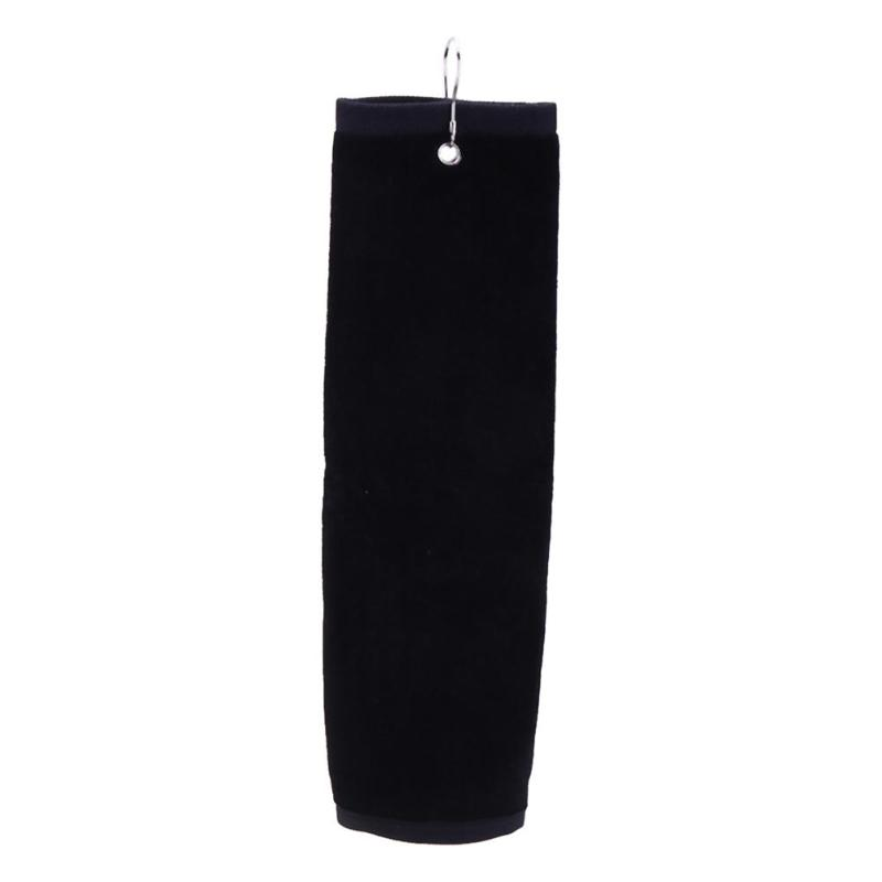 Handtuch Golf Reinigung Sport Handtuch Komfort Baumwolle Golf Handtücher Mit Tasche Haken-in Golf-Trainingshilfen aus Sport und Unterhaltung bei title=
