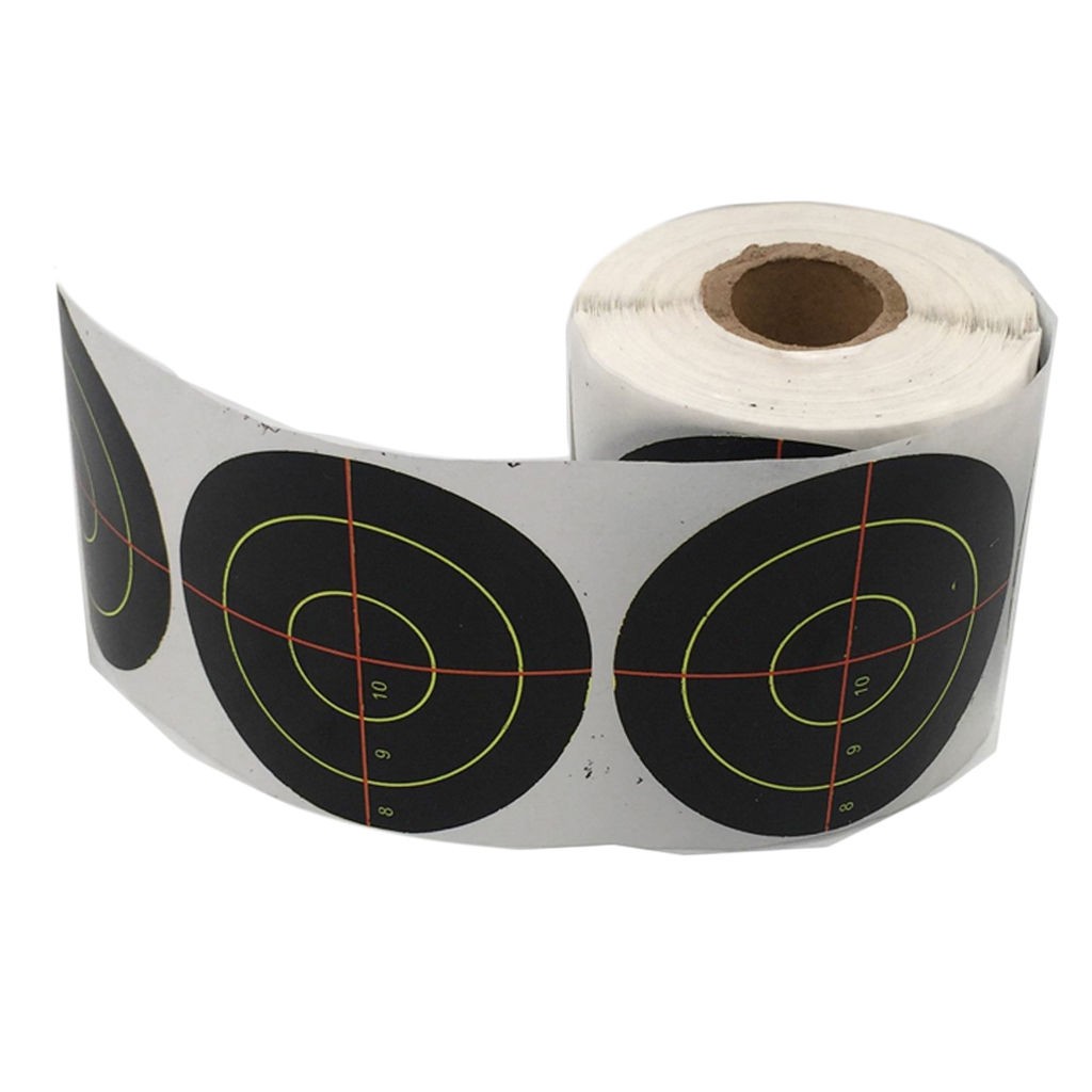 Pack Of 250 Splatter Target Archery Shooting Paper Target Stickers For Training