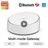 Moes Multi-modus Smart Gateway ZigBee WiFi Bluetooth Mesh Hub Arbeit Mit Tuya Smart App Voice Control Über Alexa google Home Heißer