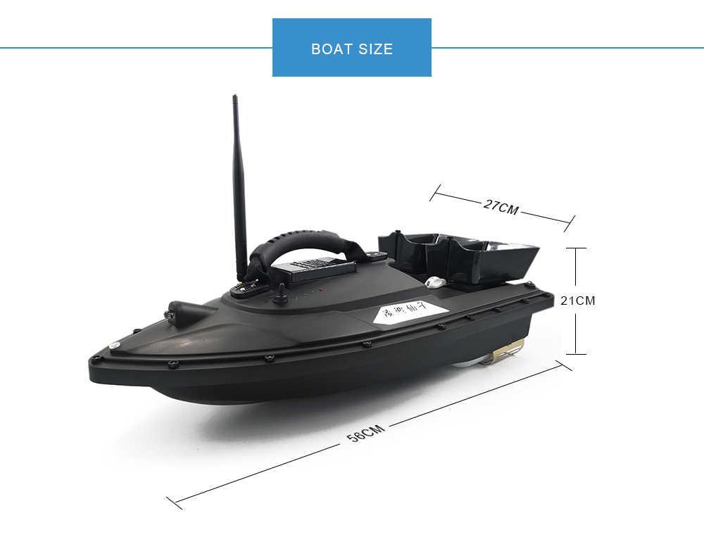 Lampka nocna RC odległość Auto przynęta wędkarska inteligentny lokalizator ryb RC łódź z przynętą bezprzewodową 1.5KG 500M RTR VS 2011-5 V007 V005