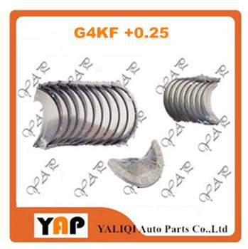 G4KF + 0 25 główne łożysko łożysko korbowodu dla HYUNDAI GENESIS COUPE 2 0T L4 16V 21020-2G020 23060-2G000 21030-25150 2009-20 tanie i dobre opinie EAPENERGY Mechanizm korbowy 2004-2016 12cm 16cm G4KF +0 25 21020-2G020 23060-2G000 21030-25150 Aluminum alloy 2000cc 4 CYLINDRY