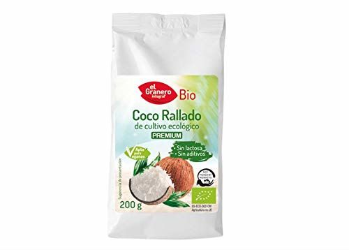 Bio Coco Rallado De Cultivo Ecológico Premium Sin Lactosa Envase 200 G
