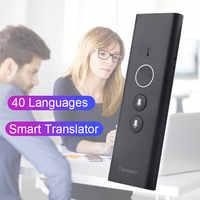 Traducteur vocal Traducteur Portable Traducteur d'idiomes En Tiempo Traducteur De traduction De voyage réel multilingue