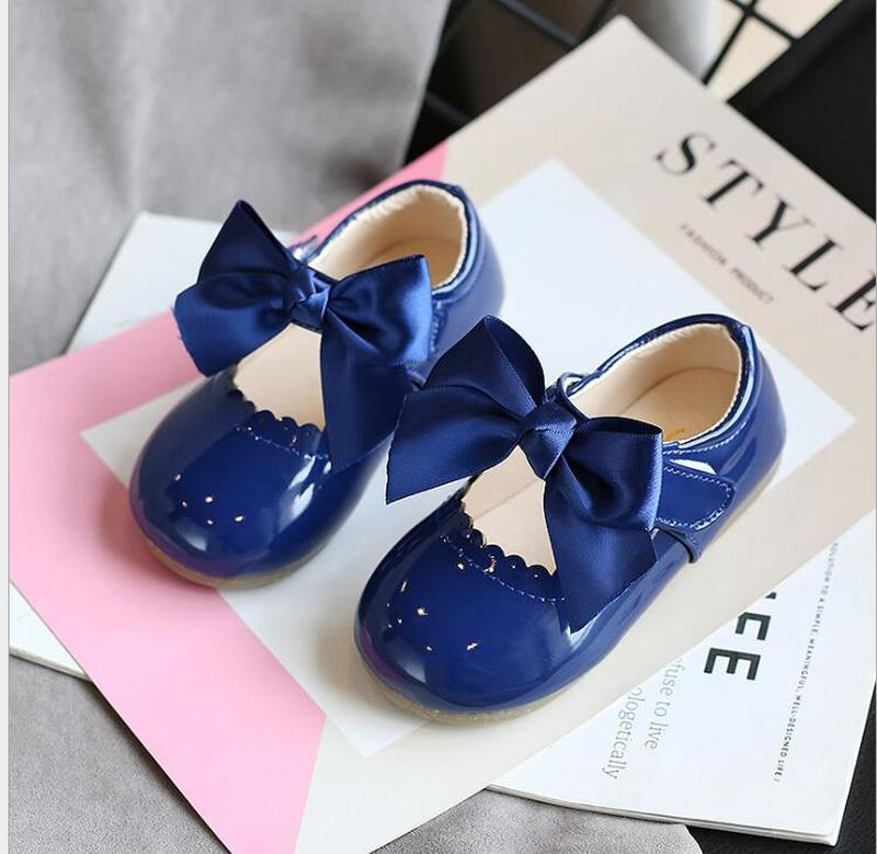 Newest Summer Kids Shoes 2020 Fashion Leathers Sweet Children Sandals For Girls Toddler Baby Breathable PU Out Bow Shoes