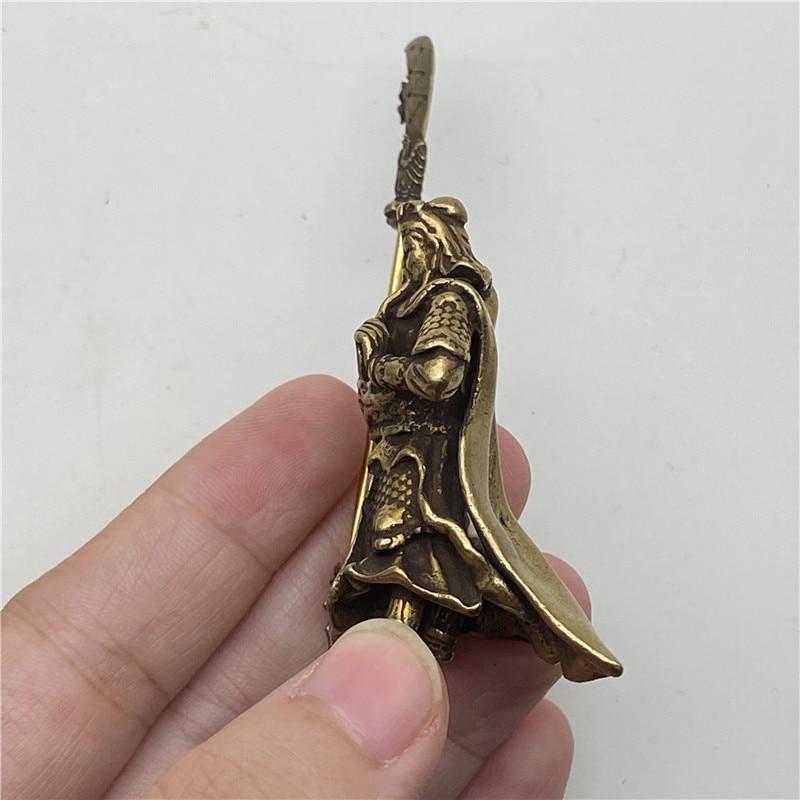 Brass Guangong Figurines (1)