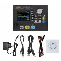 Digital Dual Channel DDS Function Signal Generator Counter Frequency Meter Arbitrary 15MHz 266MSa/s JDS2800 EU Plug