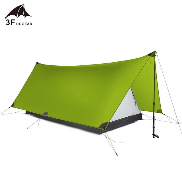 3F UL GEAR Shanjing 2 Person Outdoor Ultralight Tent 20D  2