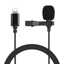 ABHU-Professional Grade Lavalier Lapel Microphone with Clip for /Recording/Interview/Video Conference/Podcast/Voice Dictat(China)