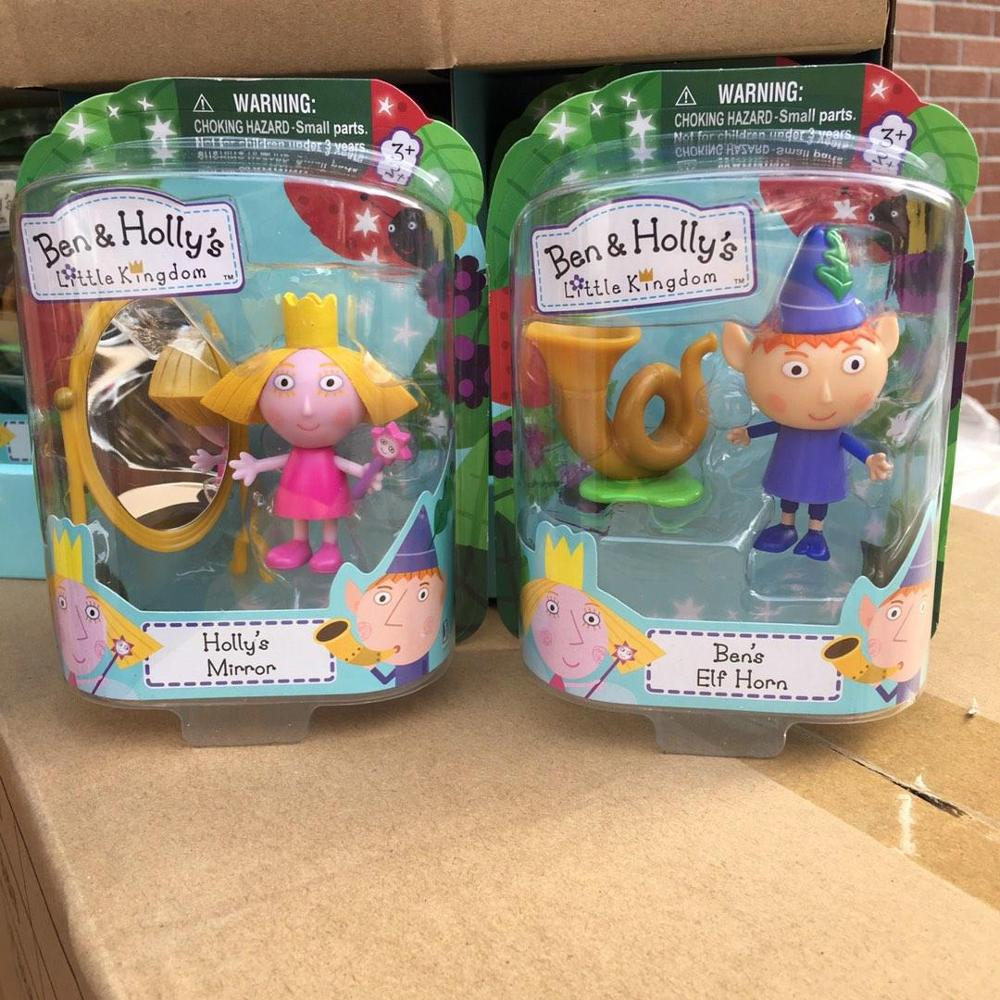 Original Ben And Holly Anime Figures Toy Cartoon Characters Mini Action Figures Toys For Kids