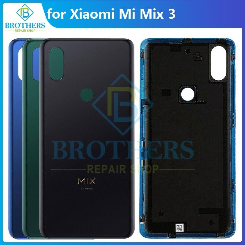 Original Battery Housing for Xiaomi Mi Mix 3 for Xiaomi Mix3 Battery Door Back Cover Case Rear Housing for Xiaomi M1810E5A Top