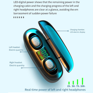 Image 4 - TWS Earphones 9D Stereo Wireless Bluetooth Headphone Sport Headset Handsfree Earbuds with Mic Charging Box for Smart Phone