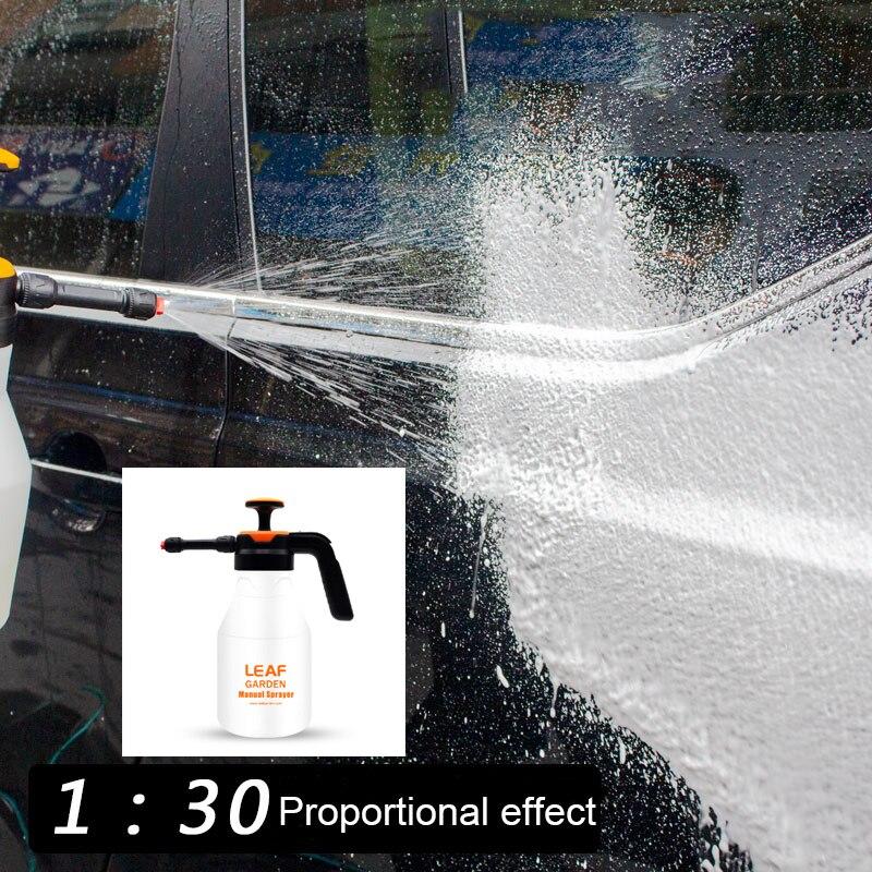 1- 2L car wash sprayer foam spray nozzle auto pressure /foam sprayer auto sprayer plastic for household window foam watering can-2