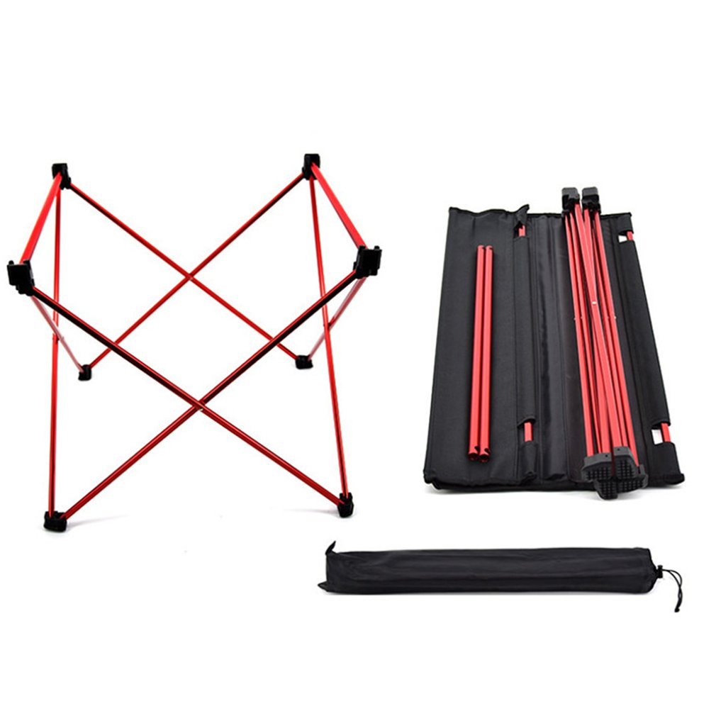 Outdoor Cloth Desktop Folding Table Portable Camping Camping Table Stall Table Outdoor Aluminum Picnic Tablecloth