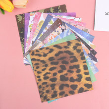 Papier Origami carré à fleurs Double face pliable, papier artisanal Sakura fait à la main pour enfants bricolage décoration artisanale pour Scrapbooking