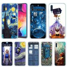 Box Doctor Who Van Gogh Case voor Samsung Galaxy A50 A20e A80 A70 A60 A40 A30 A10 M40 M30 M20 m10 A6 A8 + 2018 TPU Telefoon Cover(China)