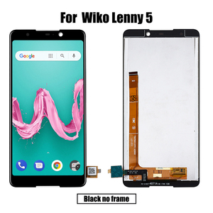 Image 2 - New Original For Wiko Lenny 5 LCD&Touch screen Digitizer with frame display Screen module accessories Assembly Replacement Tools