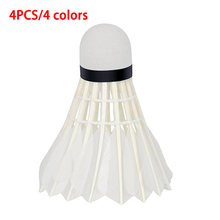 Lightweight UV Badminton Lighting Glow Shuttlecock Sports Supplies Durable Dark Night Playing Indoor/Outdoor(China)