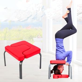 42x43x36cm Yoga Chair Headstand Stool Ultralight Yoga Chair Inversion Bench Headstander Fitness Kit  HW107