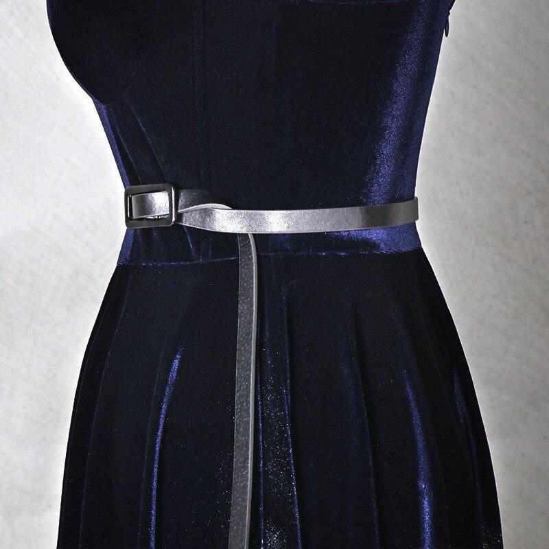Nieuwe 3D drie dimensionale afdrukken jurk sling diner feestjurk sexy fluwelen high end jurk vrouwelijke - 3