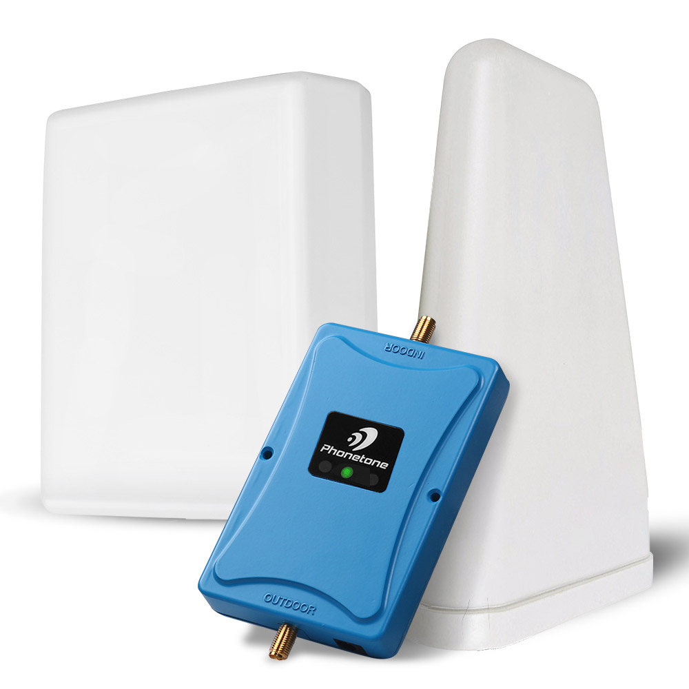 4G LTE 700mhz Cellular Amplifier Smart 4g 700 Signal Repeater ALC Control B 12/17 Moblie Phone Booster 63dBi Gain 4G Network Kit