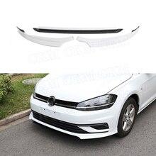 Для VW Golf 7,5 standard не для GTI ABS передний спойлер для губ разветвители фартуки противоударный протектор стайлинга автомобилей