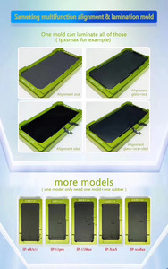 Image 5 - X/Xs/Xs max/Xr/11Pro/11Pro max LCD display screen glass positioning laminating mold no need to bend flex cable