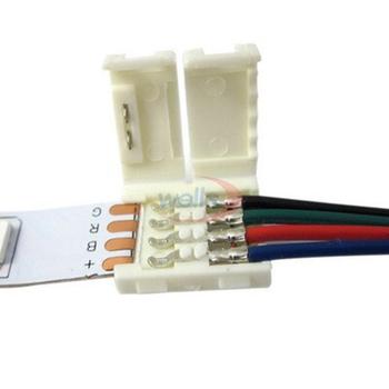5-100 sztuk RGB złącze paska 2pin 3pin 4pin 5pin led przewód łączący do WS2811 WS2812B 5050 RGB dioda led rgbw taśmy światła tanie i dobre opinie YJBCo 2pin 3pin 4pin 5pin connector
