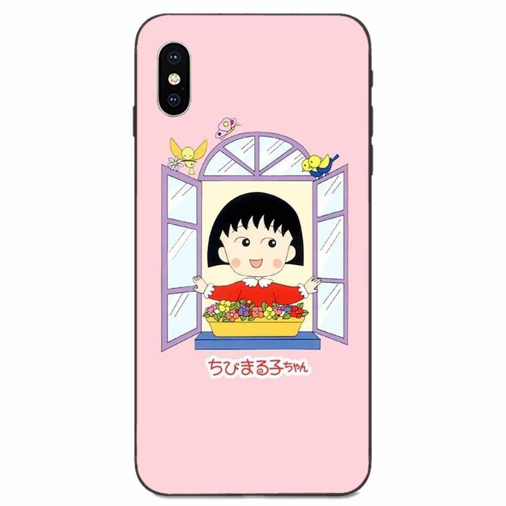 Giapponese Anime Chibi Maruko Chan Modello Per La Galassia C5 C7 J1 J2 J3 J330 J5 J6 J7 J730 M20 M30 ace Core Max Mini Plus Prime Pro